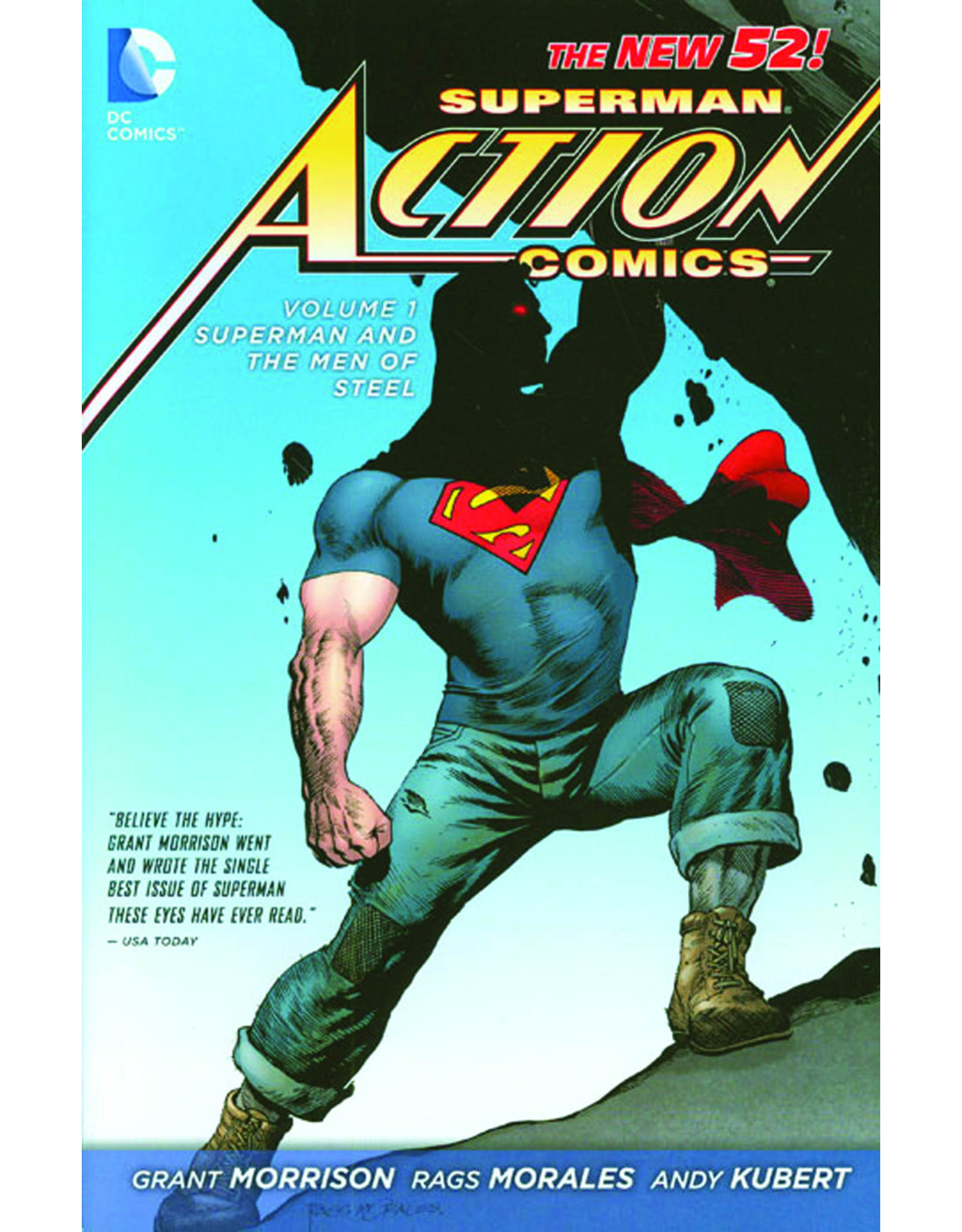 DC COMICS SUPERMAN ACTION COMICS HC VOL 01 SUPERMAN MEN OF STEEL