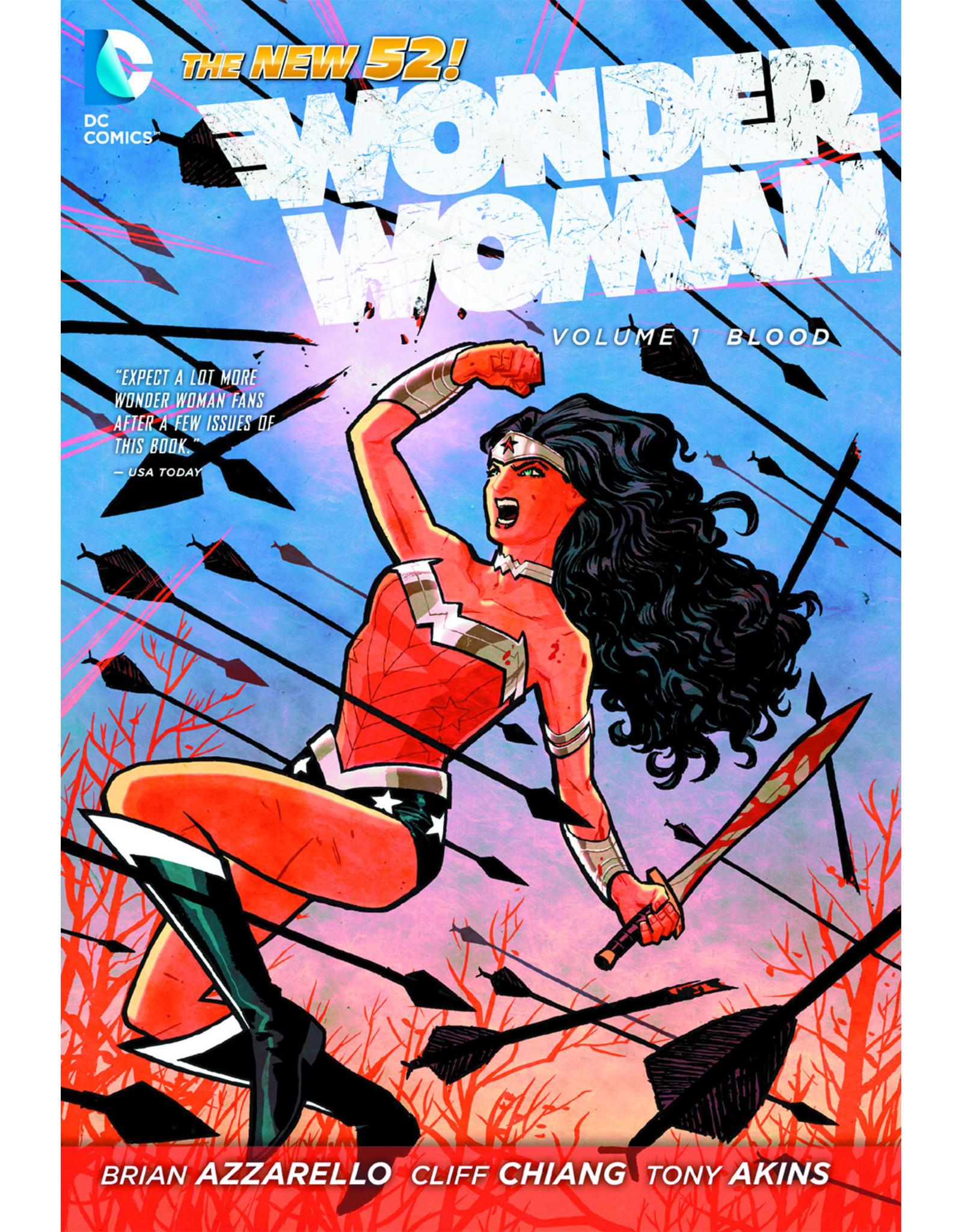 DC COMICS WONDER WOMAN HC VOL 01 BLOOD