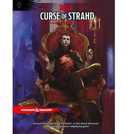 WIZARDS OF THE COAST DUNGEONS & DRAGONS RPG 5TH ED/NEXT CURSE OF STRAHD