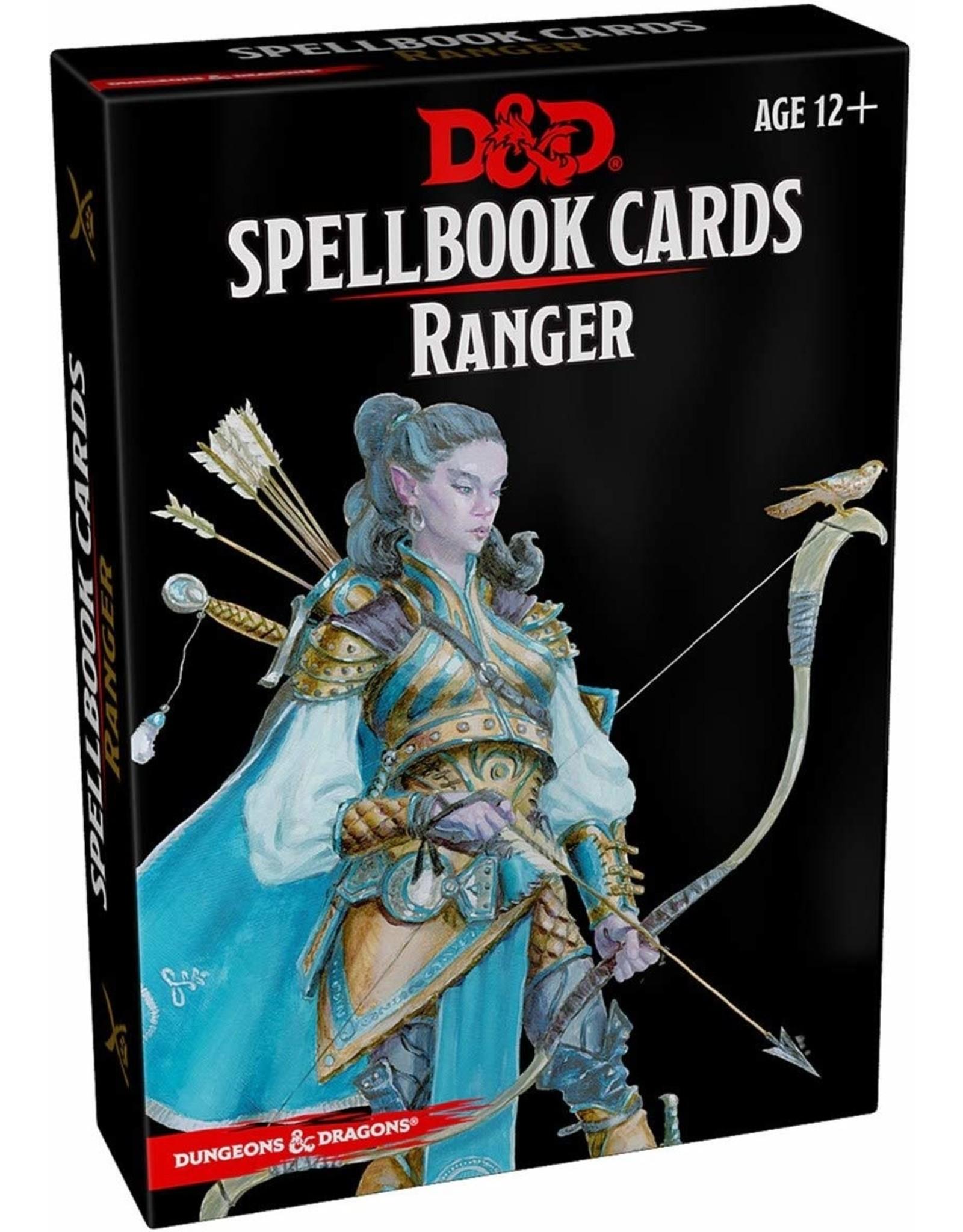 D&D SPELLBOOK CARDS RANGER
