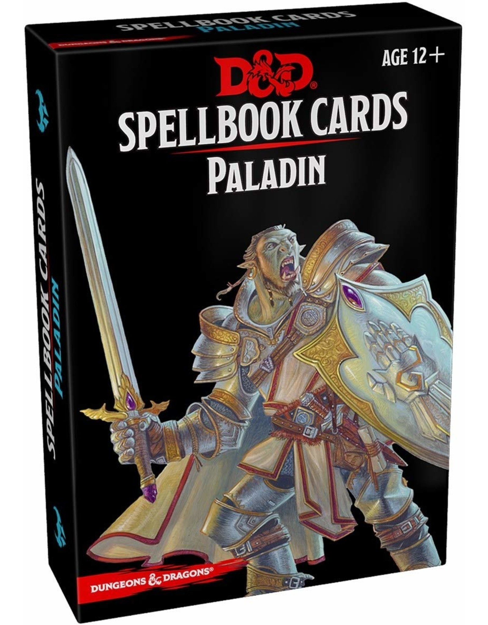 D&D SPELLBOOK CARDS PALADIN