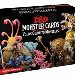 WIZARDS OF THE COAST D&D VOLOS GUIDE TO MONSTERS MONSTER CARDS