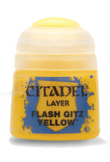 GAMES WORKSHOP CITADEL PAINT LAYER FLASH GITZ YELLOW