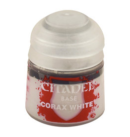 GAMES WORKSHOP CITADEL BASE: CORAX WHITE (12ML)