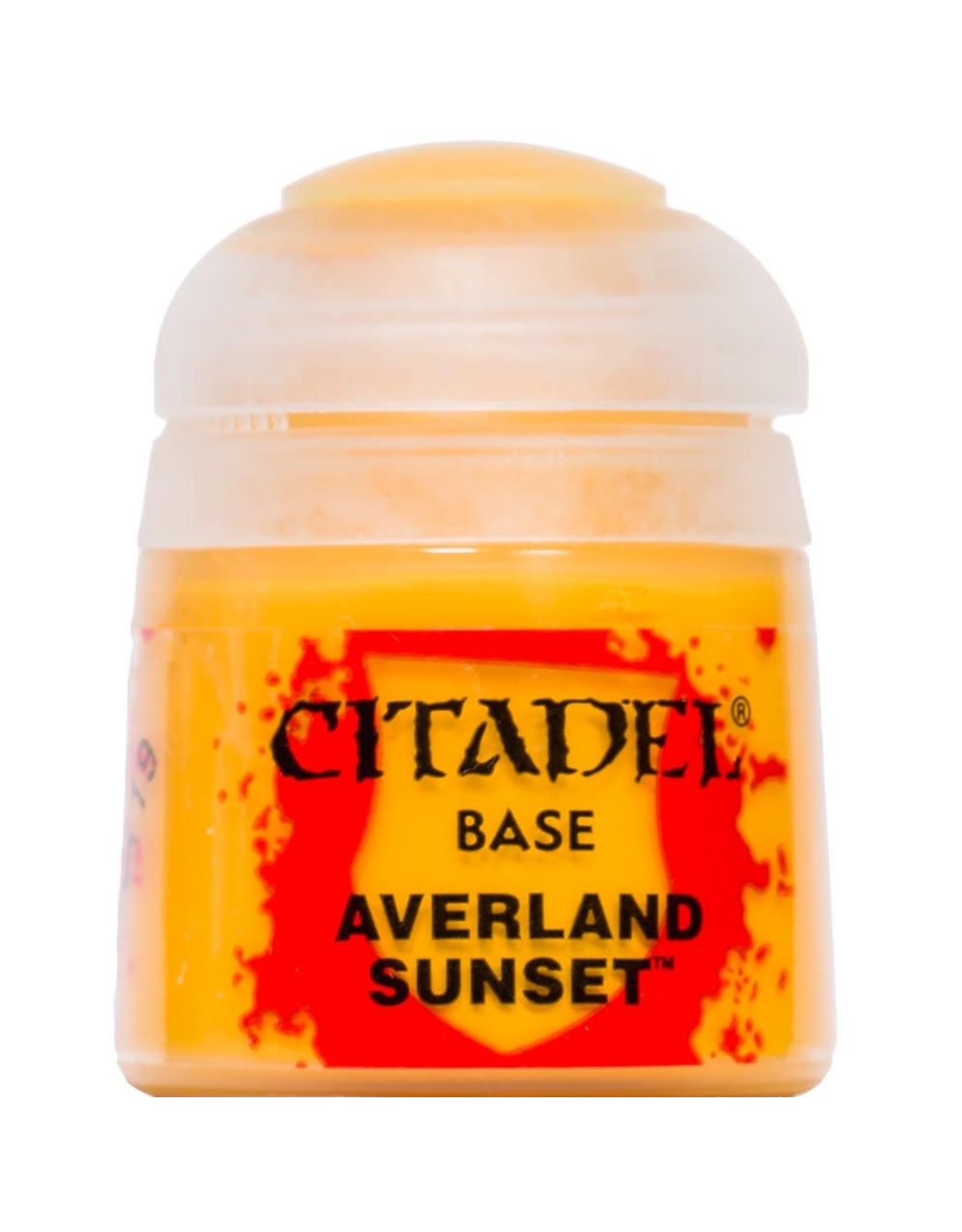 GAMES WORKSHOP CITADEL BASE: AVERLAND SUNSET (12ML)