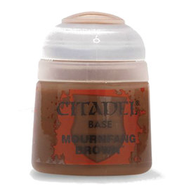 GAMES WORKSHOP CITADEL BASE MOURNFANG BROWN 12ML