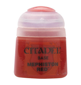 GAMES WORKSHOP CITADEL BASE MEPHISTON RED 12ML