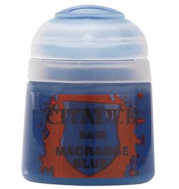 GAMES WORKSHOP CITADEL BASE MACRAGGE BLUE (12ML)