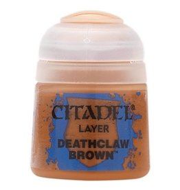GAMES WORKSHOP CITADEL PAINT LAYER DEATHCLAW BROWN