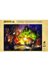 BLIZZARD ENTERTAINMENT HEARTHSTONE WORTHY OPPONENT 1000 PIECE PUZZLE