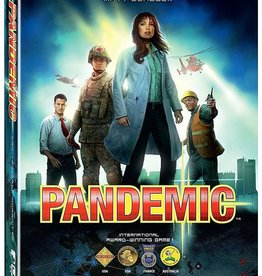 Z-MAN GAMES INC PANDEMIC BOARD 2013 EDITION
