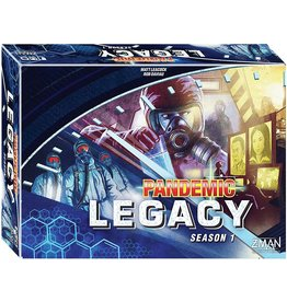 Z-MAN GAMES INC PANDEMIC LEGACY SEASON ONE BLUE