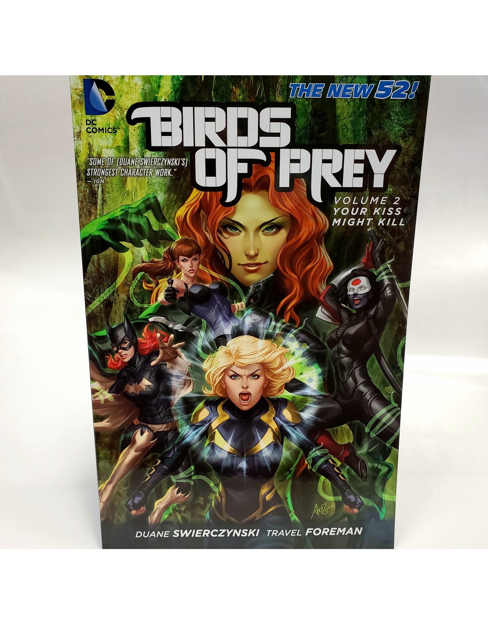 DC COMICS BIRDS OF PREY TP VOL 02 YOUR KISS MIGHT KILL