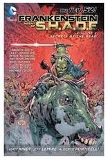 DC COMICS FRANKENSTEIN AGENT OF SHADE TP VOL 02 SECRETS DEAD