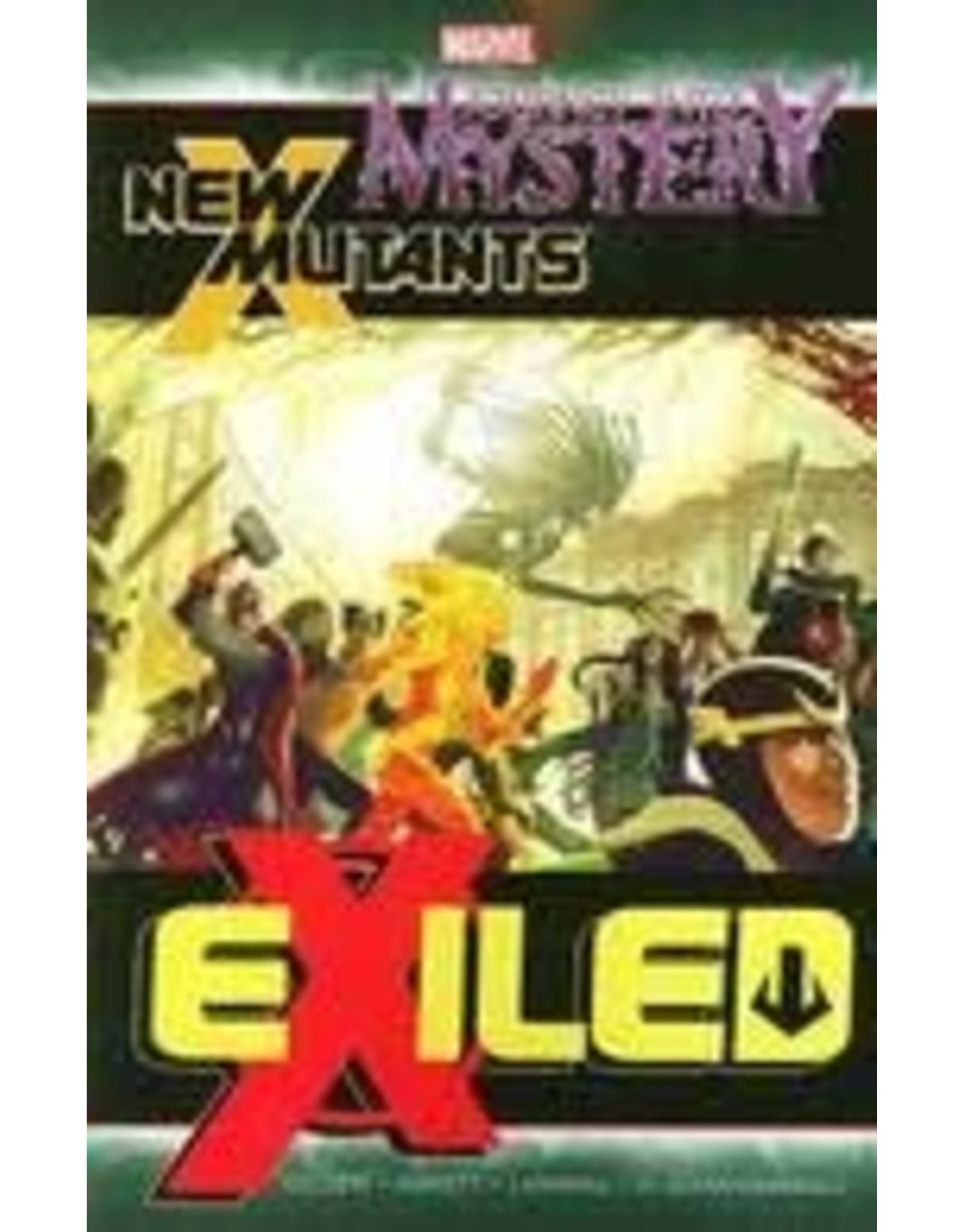 MARVEL COMICS JOURNEY INTO MYSTERY NEW MUTANTS TP EXILED