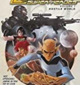 DC COMICS LEGION OF SUPER HEROES TP VOL 01 HOSTILE WORLD