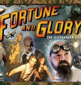 FLYING FROG PRODUCTIONS FORTUNE AND GLORY THE CLIFFHANGER GAME