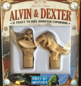 DAYS OF WONDER TICKET TO RIDE ALVIN DEXTER MONSTER EXP