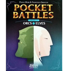Z-MAN GAMES INC POCKET BATTLES ORCS VS ELVES (OOP)