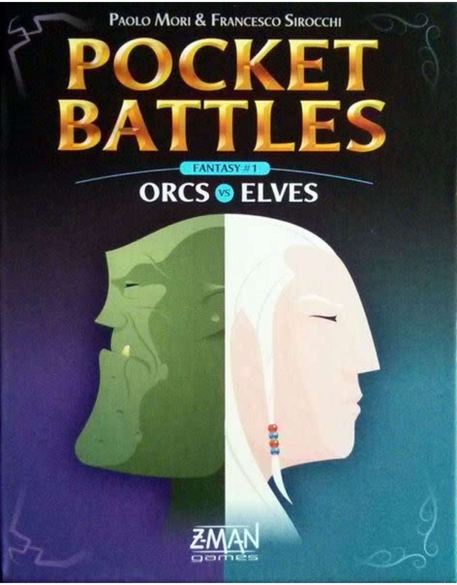 Z-MAN GAMES INC POCKET BATTLES ORCS VS ELVES (OOP)
