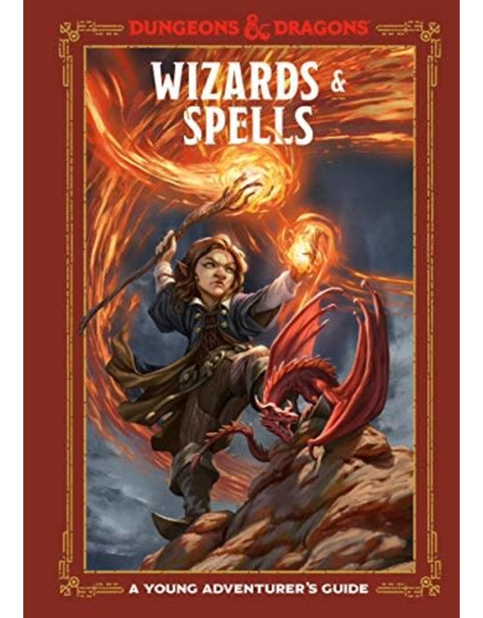 WIZARDS OF THE COAST D&D YOUNG ADVENTURERS GUIDE WIZARDS & SPELLS