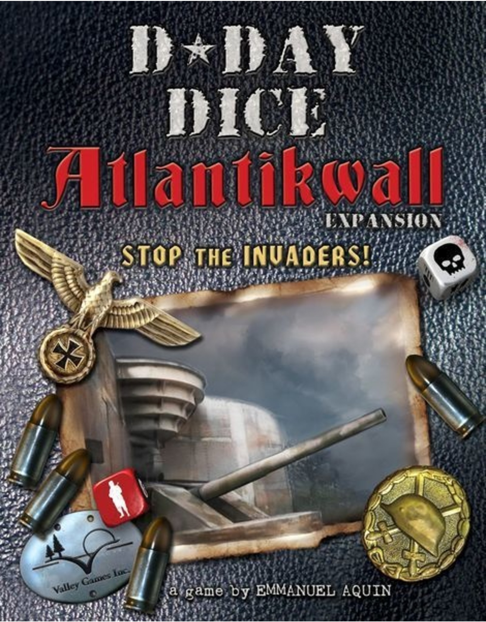 D-DAY DICE ATLANTIKWALL EXPANSION (OOP)