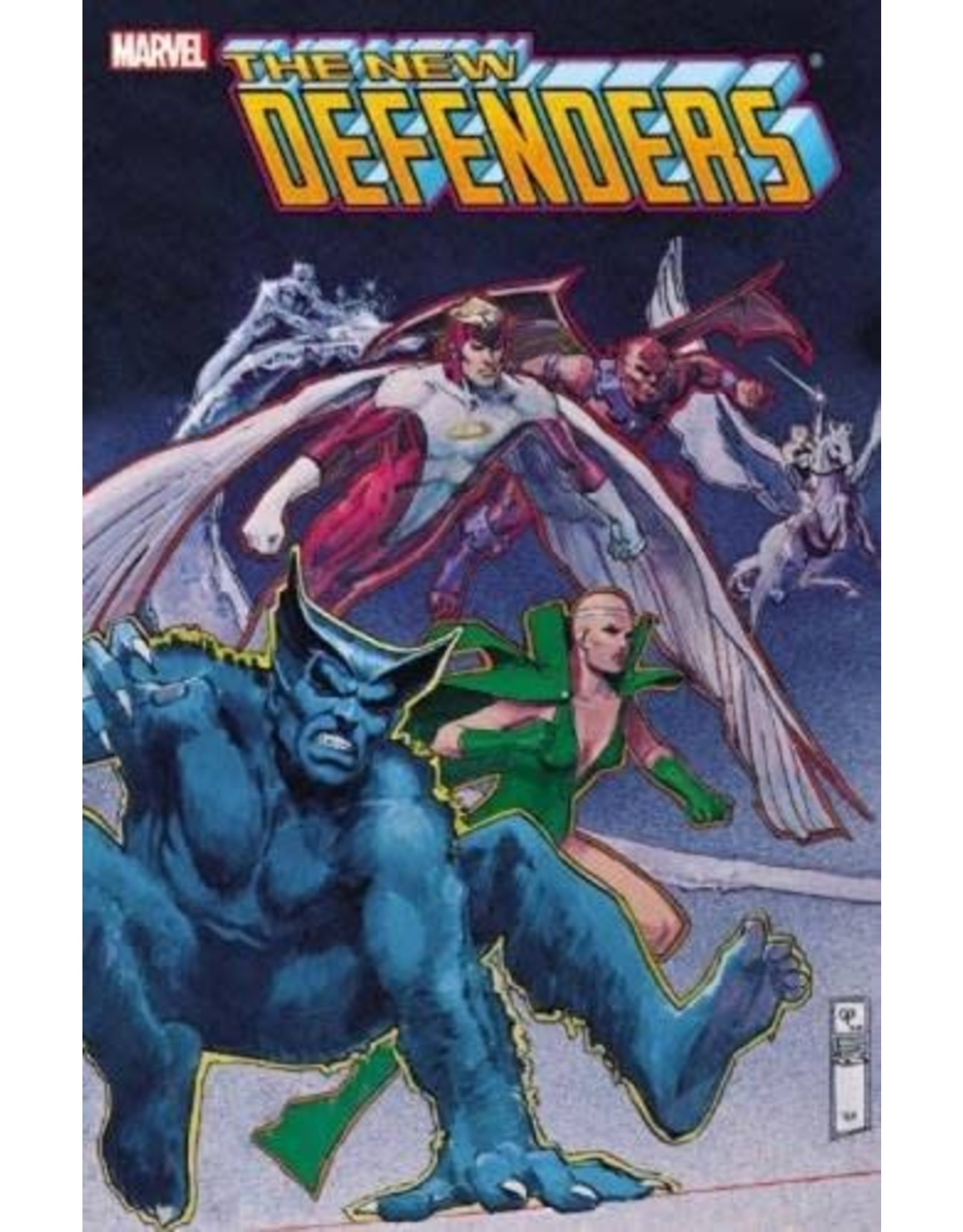 MARVEL COMICS NEW DEFENDERS TP #1