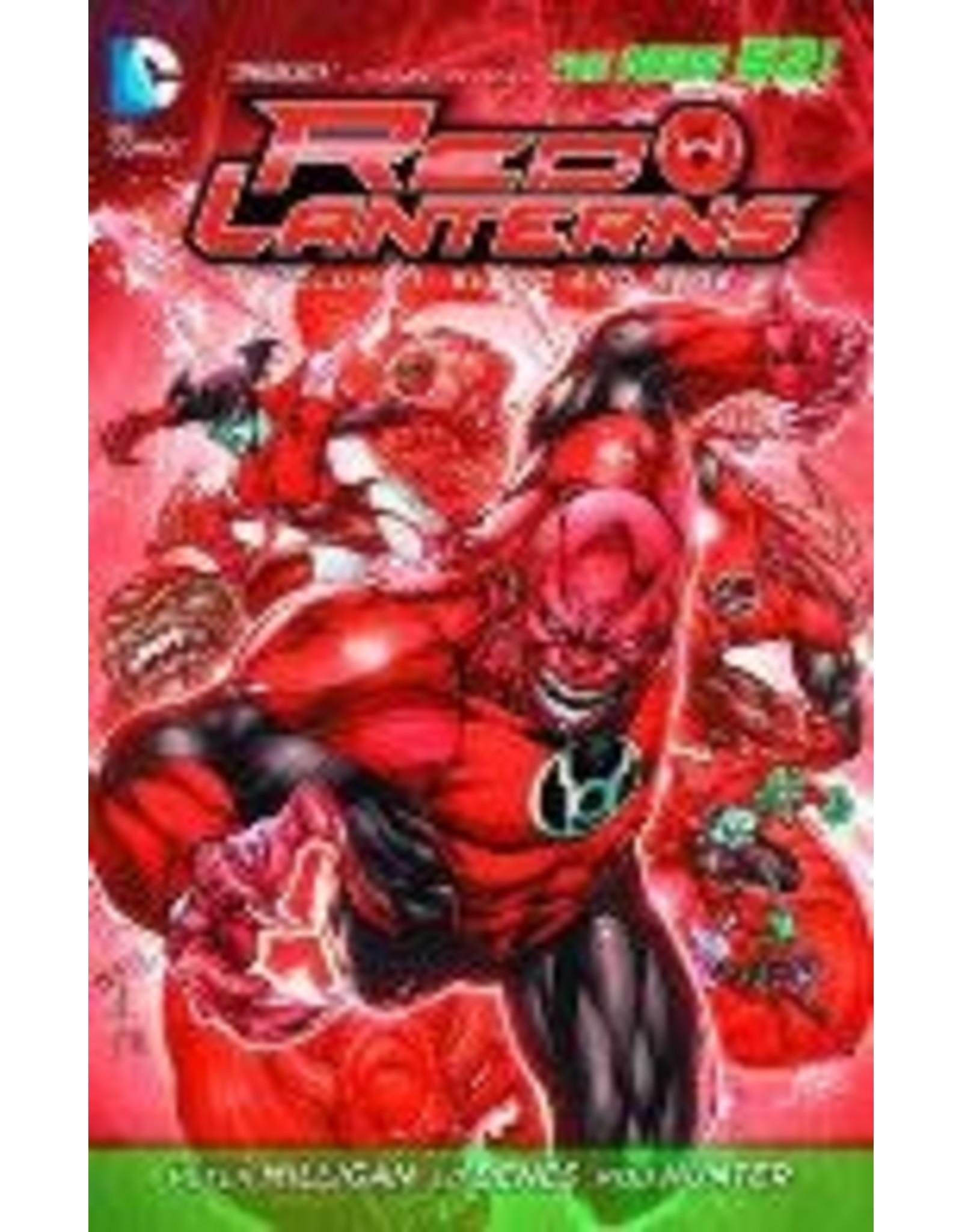 DC COMICS RED LANTERNS TP VOL 01 BLOOD AND RAGE