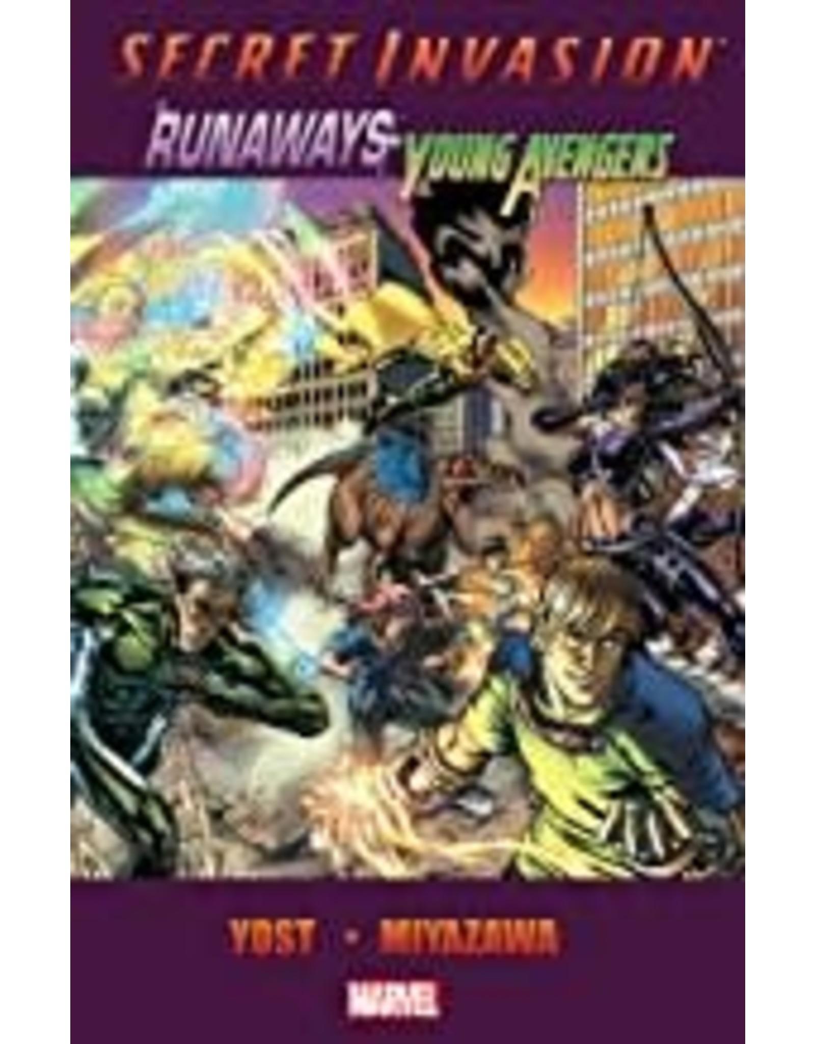MARVEL COMICS SECRET INVASION TP RUNAWAYS YOUNG AVENGERS