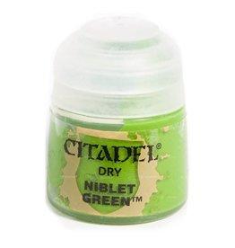 GAMES WORKSHOP CITADEL PAINT DRY NIBLET GREEN