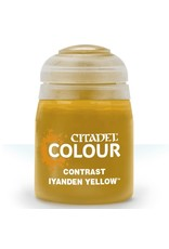 GAMES WORKSHOP CITADEL COLOUR CONTRAST: IYANDEN YELLOW (18ML)