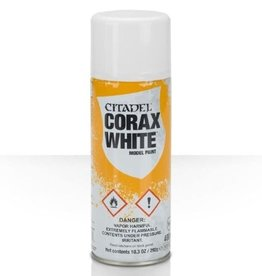 GAMES WORKSHOP CITADEL CORAX WHITE SPRAY