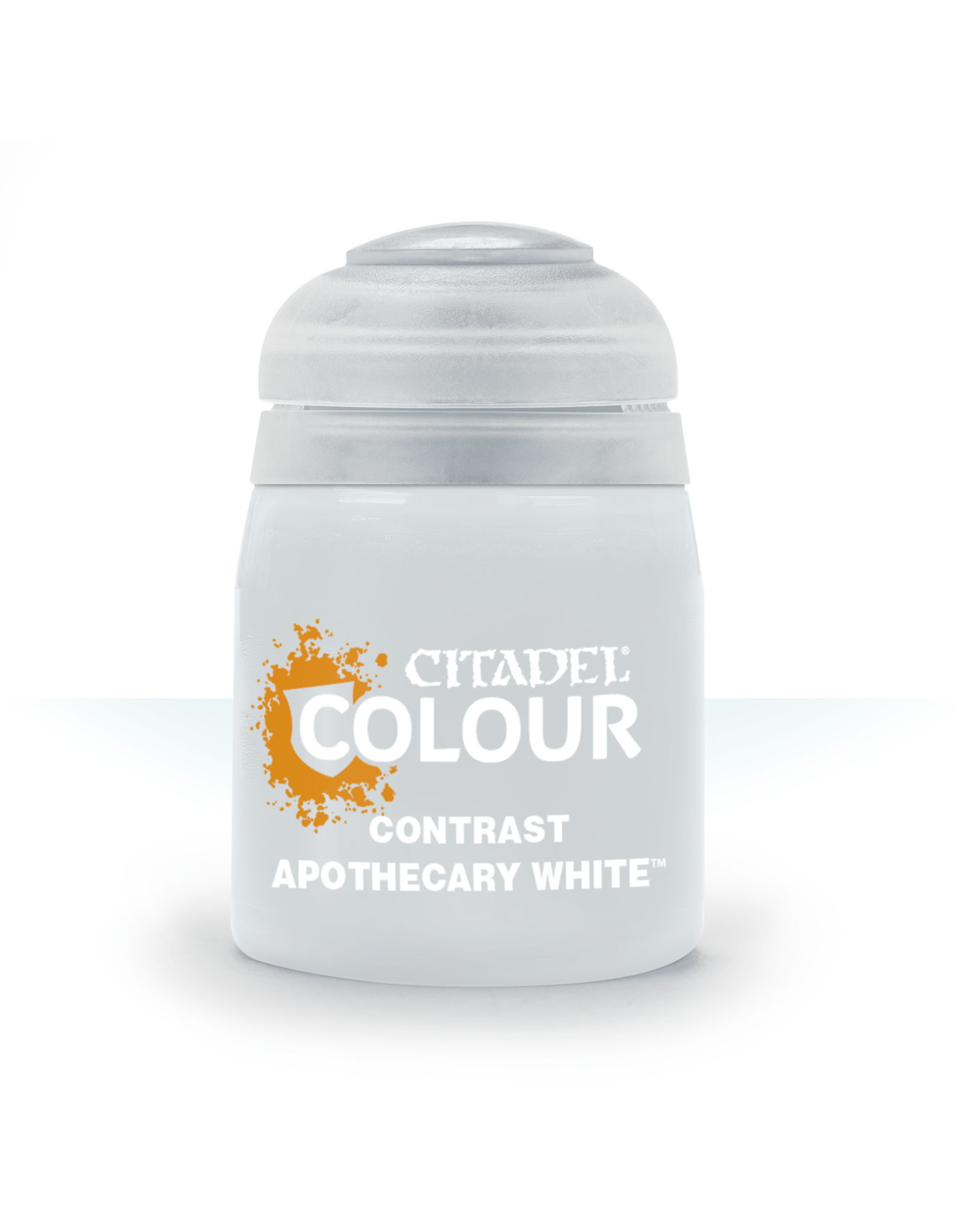 GAMES WORKSHOP CITADEL COLOUR CONTRAST: APOTHECARY WHITE 18 ML