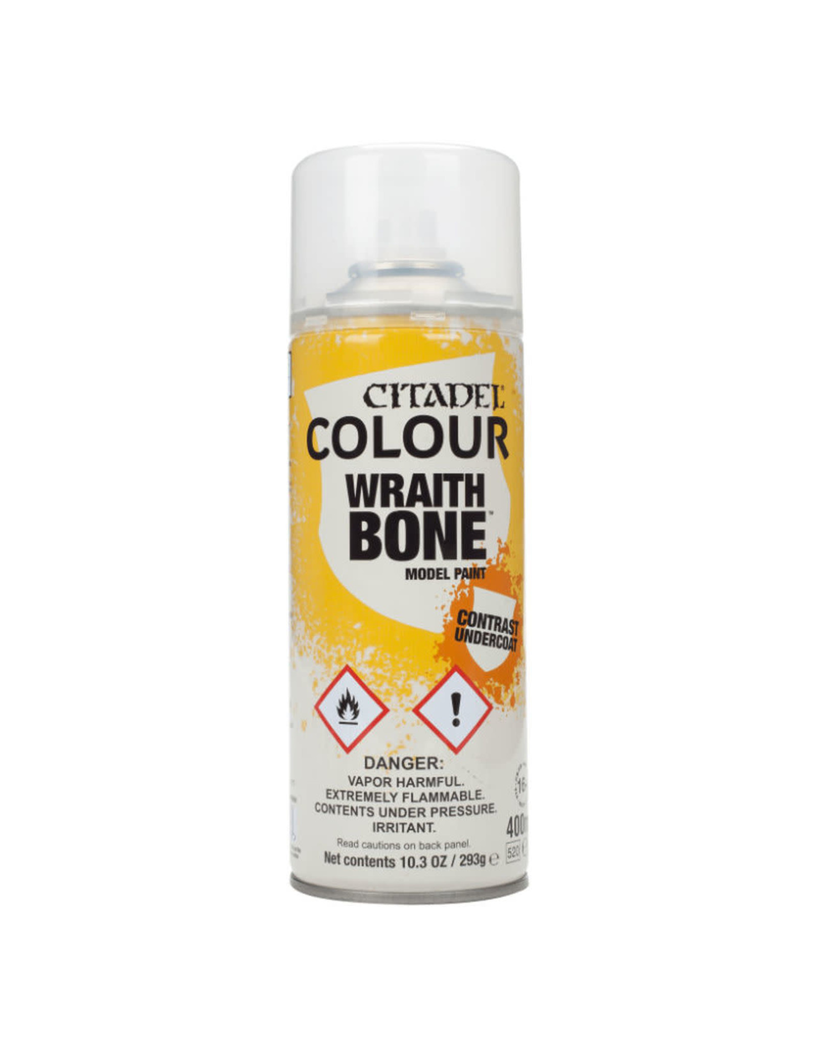 GAMES WORKSHOP CITADEL COLOUR WRAITHBONE SPRAY 400ML