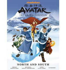 DARK HORSE COMICS AVATAR LAST AIRBENDER NORTH AND SOUTH LIBRARY EDITION HC