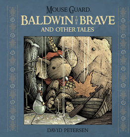 BOOM! STUDIOS MOUSE GUARD BALDWIN BRAVE OTHER TALES HC