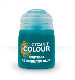 GAMES WORKSHOP CITADEL COLOUR CONTRAST: AETHERMATIC BLUE (18ML)