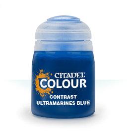 GAMES WORKSHOP CITADEL COLOUR CONTRAST: ULTRAMARINES BLUE (18 ML)