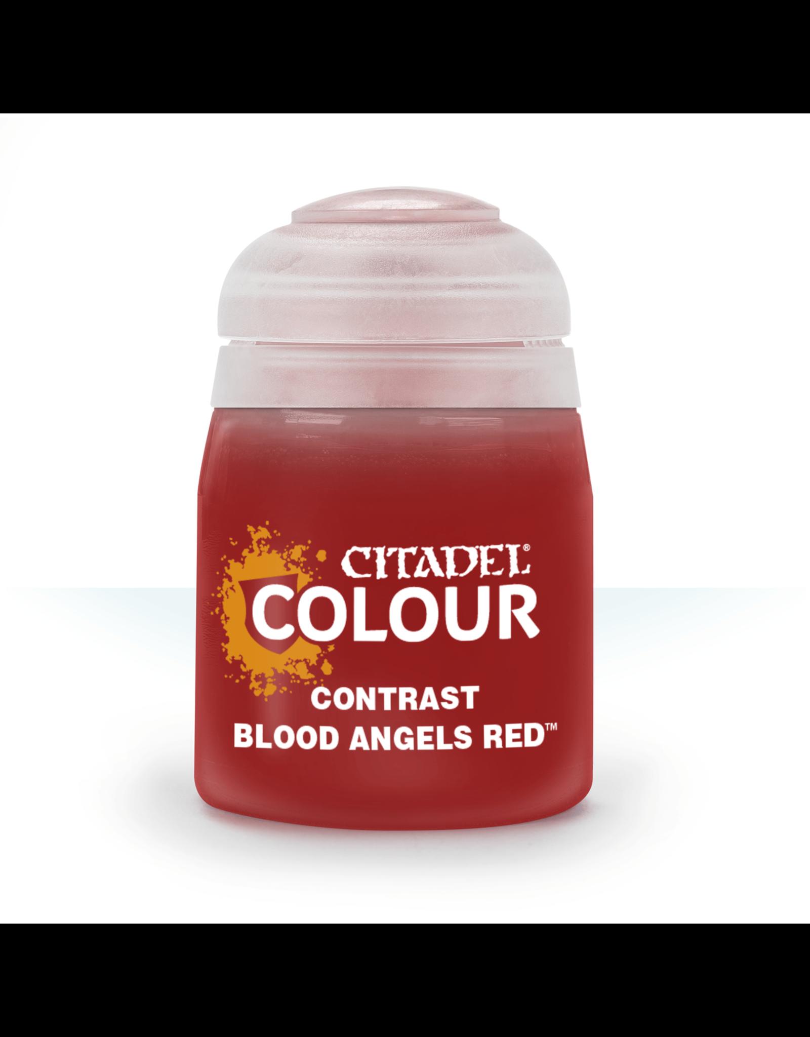 GAMES WORKSHOP CITADEL COLOUR CONTRAST: BLOOD ANGELS RED (18ML)