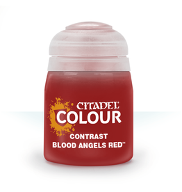 GAMES WORKSHOP CITADEL COLOUR CONTRAST: BLOOD ANGELS RED (18ML)