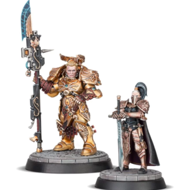 GAMES WORKSHOP WARHAMMER 40K - TALONS OF THE EMPEROR VALERIAN AND ALEYA