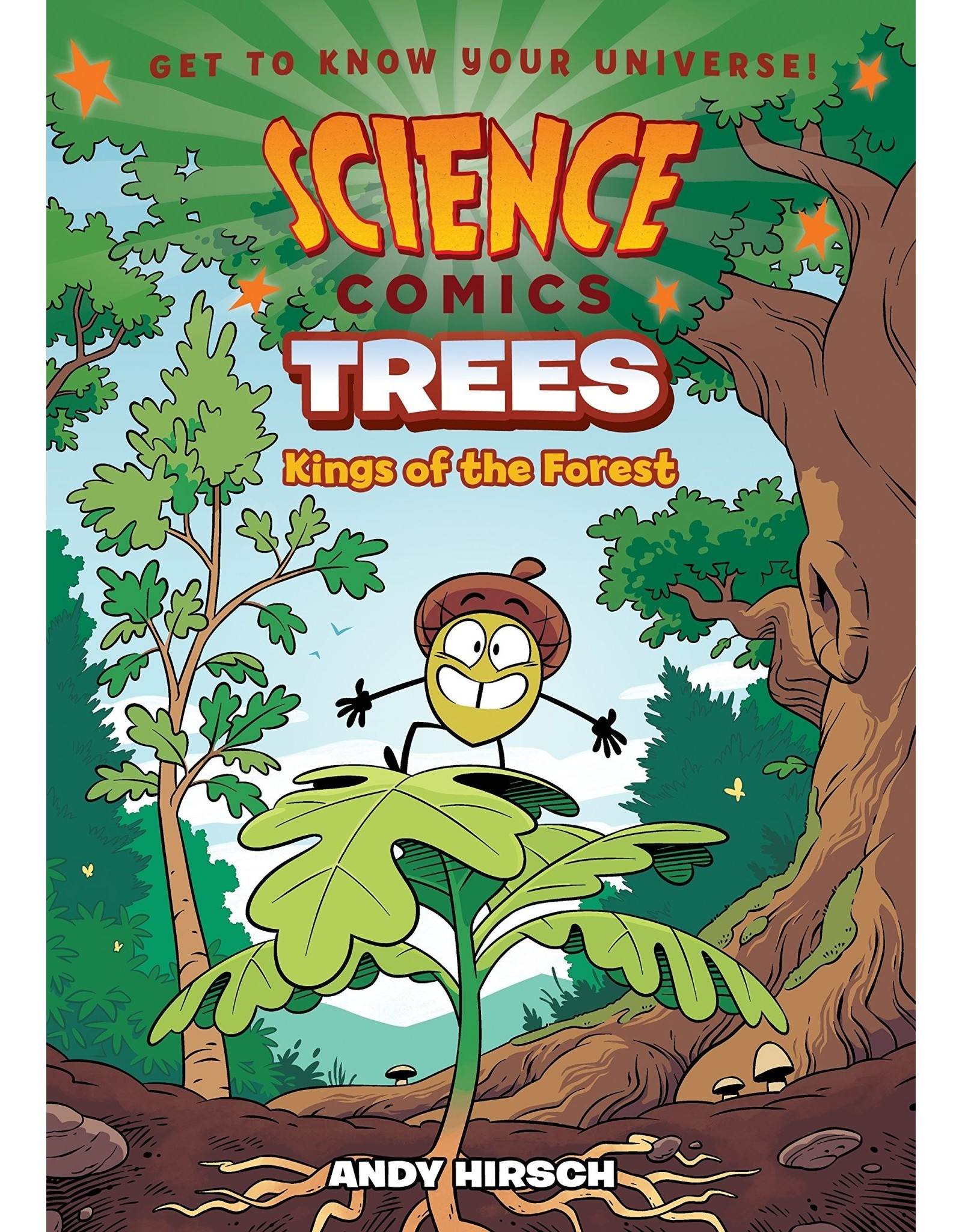 :01 FIRST SECOND SCIENCE COMICS TREES GN