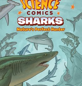 :01 FIRST SECOND SCIENCE COMICS SHARKS GN