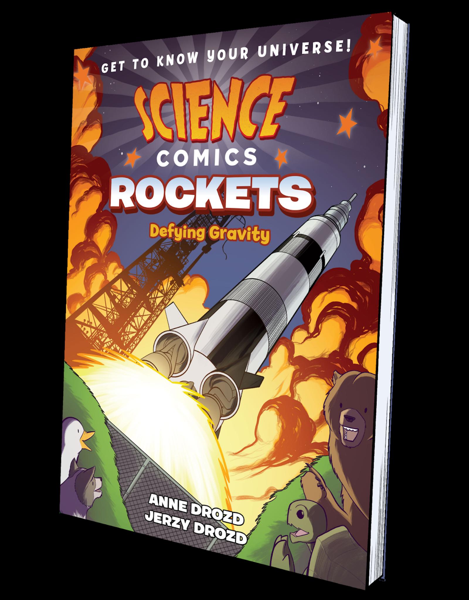 :01 FIRST SECOND SCIENCE COMICS ROCKETS SC GN