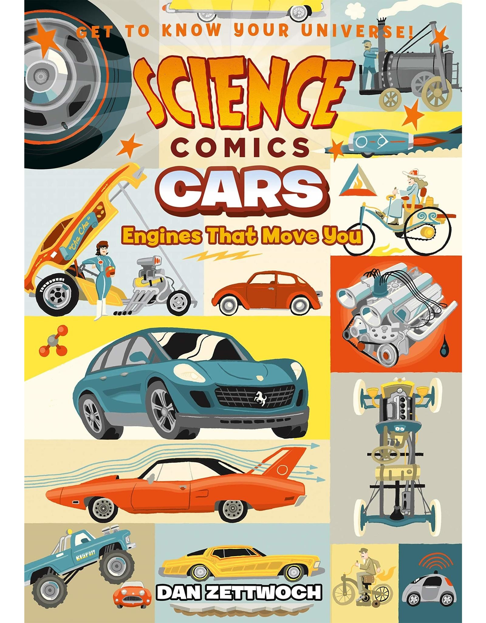 :01 FIRST SECOND SCIENCE COMICS CARS ENGINES THAT MOVE YOU SC GN