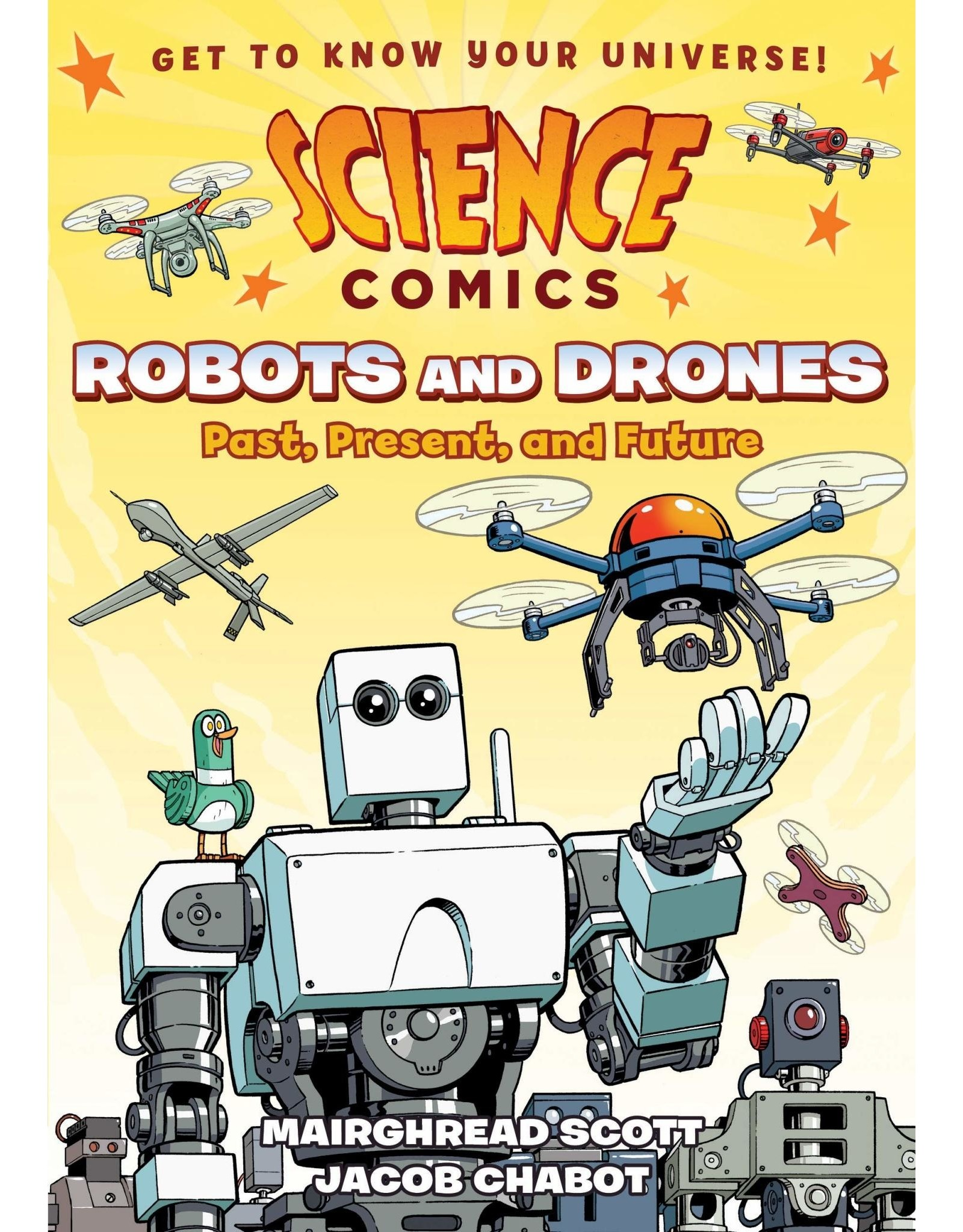 :01 FIRST SECOND SCIENCE COMICS ROBOTS & DRONES GN
