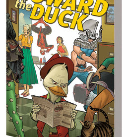 MARVEL COMICS HOWARD THE DUCK TP VOL 02 GOOD NIGHT GOOD DUCK