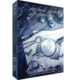 ASMODEE SHERLOCK HOLMES CONSULTING DETECTIVE CARLTON HOUSE & QUEENS PARK