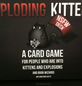 ALLIANCE GAMES DISTRIBUTORS EXPLODING KITTENS NSFW EDITION CARD GAME