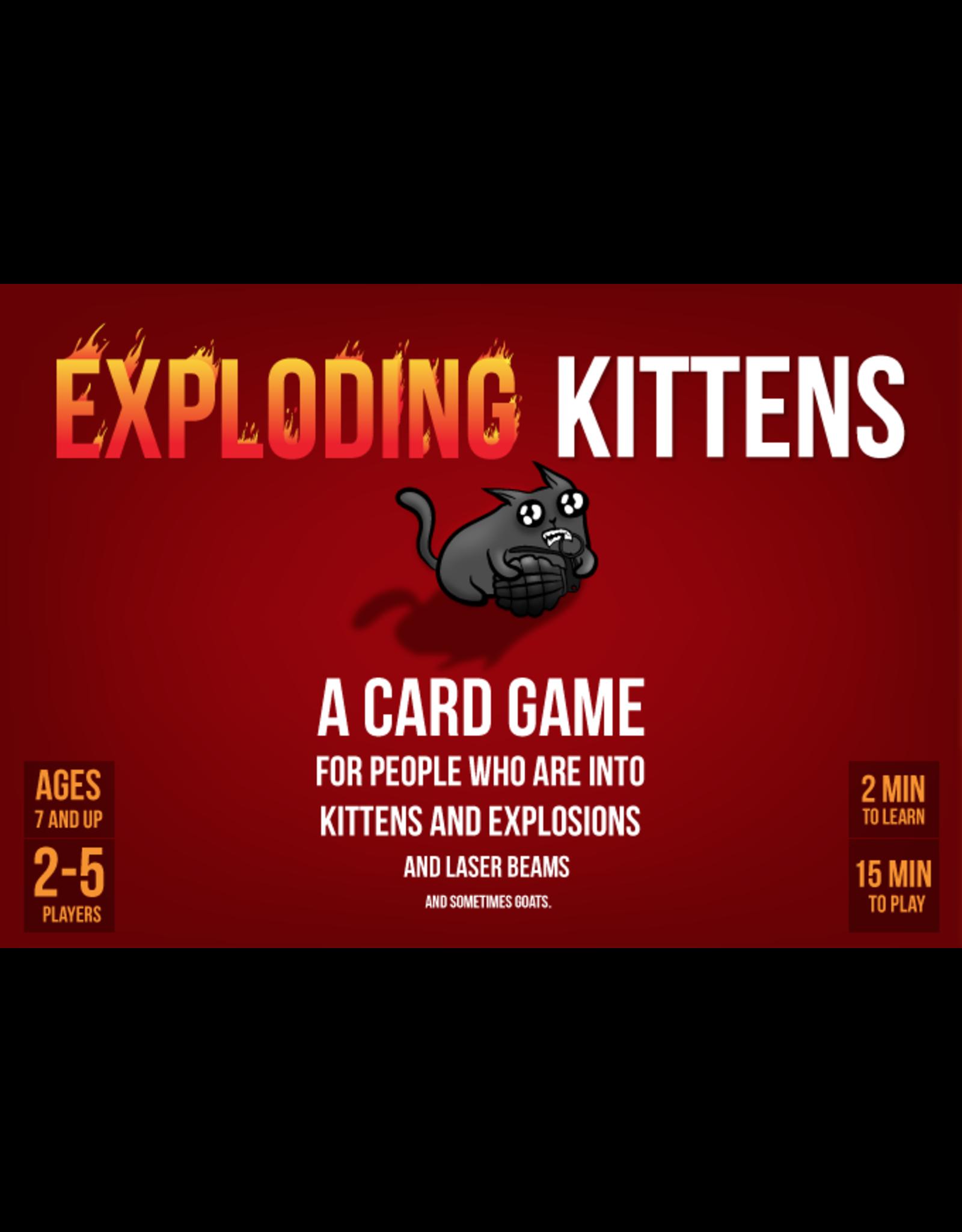 ALLIANCE GAMES DISTRIBUTORS EXPLODING KITTENS ORIGINAL ED CARD GAME